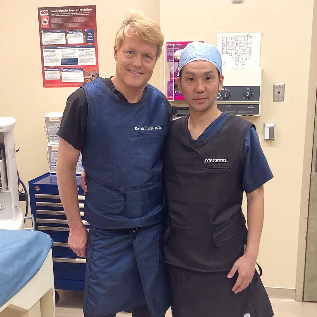 【海外研修】椎間板の修復・再生治療「DST法」の研修報告 / アメリカ